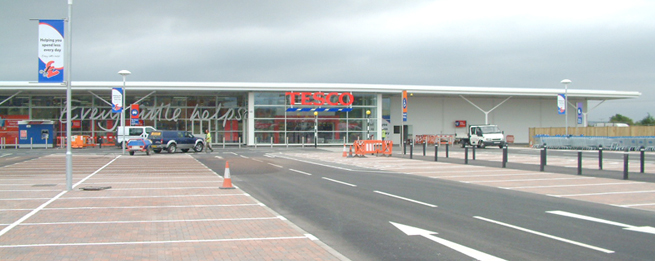 Tesco Supermarket, Braunton