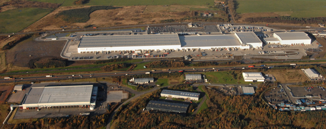 Tesco Distribution Centre, Livingstone